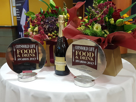 Kitchen Garden enjoy double award success