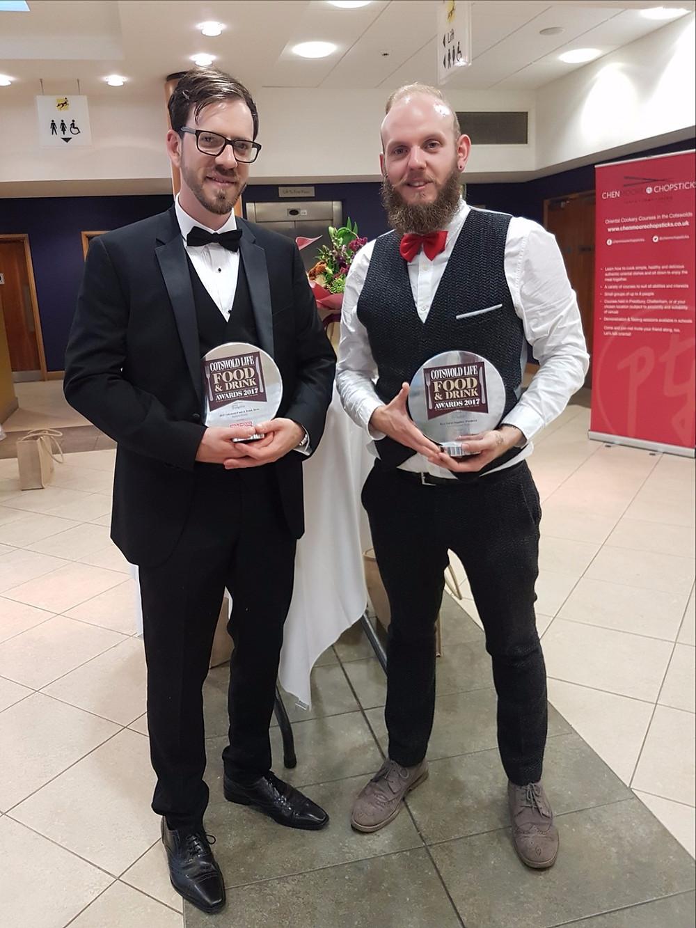 James Moinet (left) & James Horwood (right)