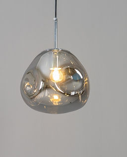 smoke contemporary-pendant-light-with-smoked-g