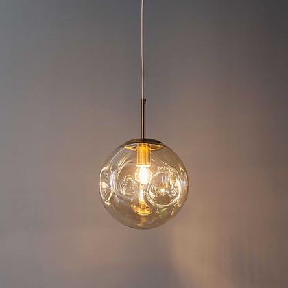 Dented Hanging Light