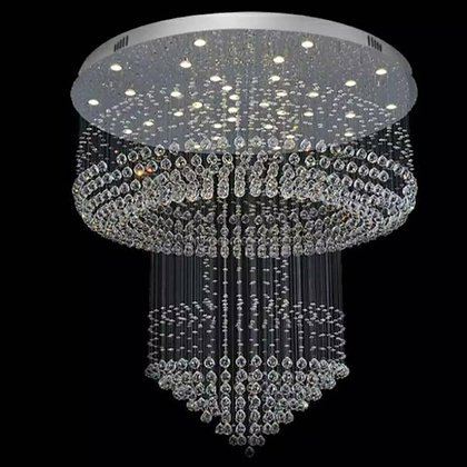 Mountain Crystal Chandelier