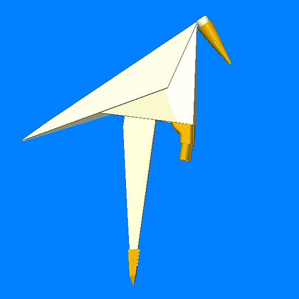 Perch Bird - single Bulb