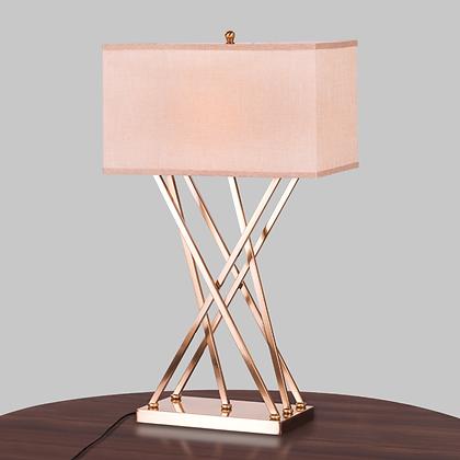 Cross leg table lamps