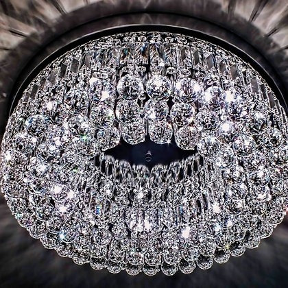Ceiling Crystal Chandelier