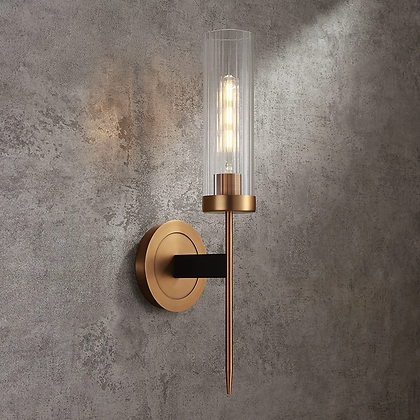 S-Fluted Wall Light