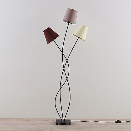 Tri-shade floor lamp