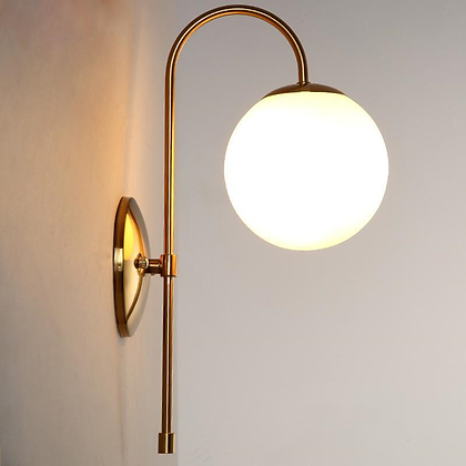 Curved Wall Light