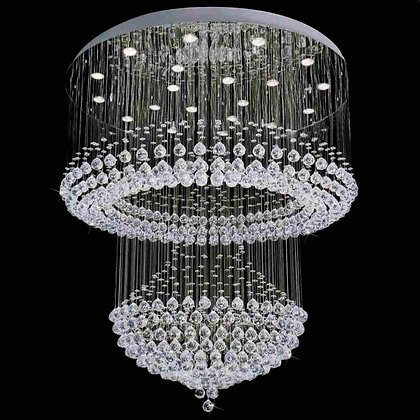 Snow Crystal Chandelier