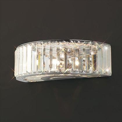 Crystal Triple Wall Lamp