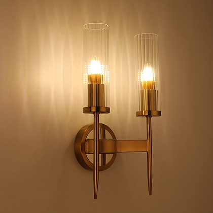D-Fluted Wall Light