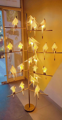 Floor Lamp - 23 perch bird