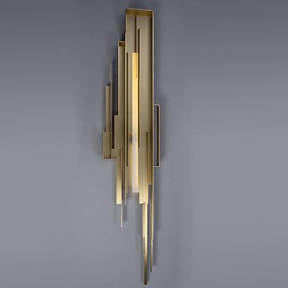 Modern Fluid Flow Wall Light