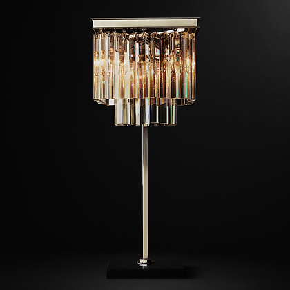 Odeon crystal table lamp