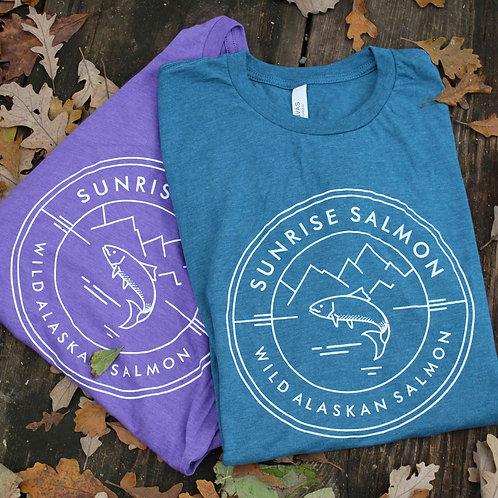 Sunrise Salmon T-Shirt