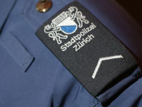 In der Rolle als Einsatzpolizist beim Dreh in der Zürcher Langstrasse.