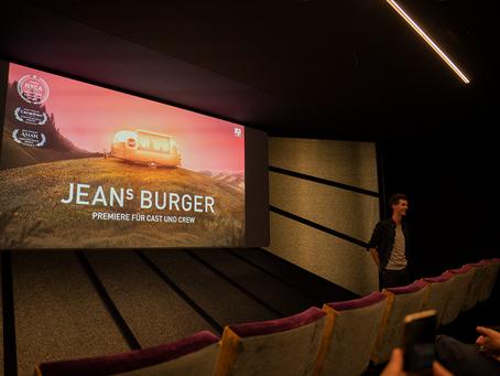 """Kino Houdini, Zürich: Filmpremiere zu """"Jean's Burger"""" mit 3 internationalen Auszeichnungen"""