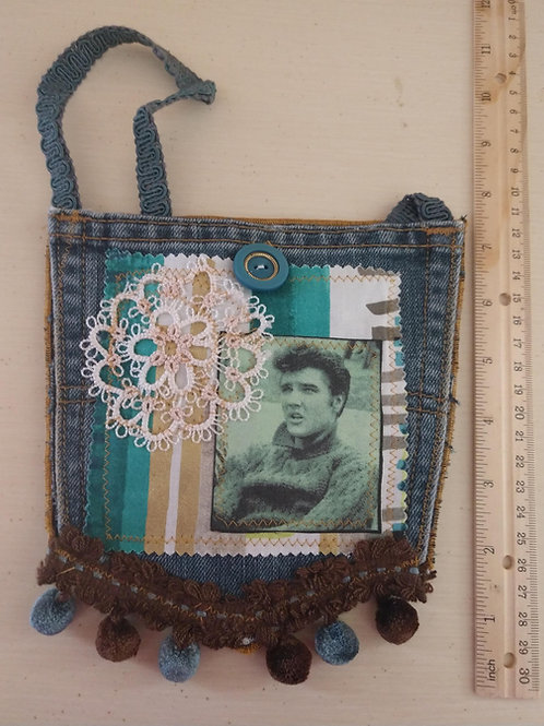 Elvis Jean Pocket Purse
