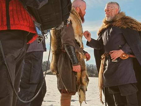 Yondus Journey, in der Rolle als Wikinger Clanchef Erik nahe Stuttgart in Deutschland
