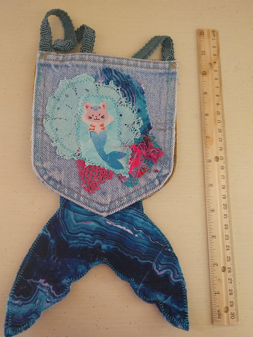 Mercat Pocket Purse with Tail