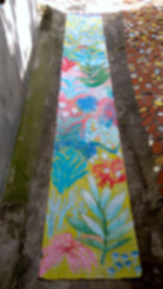 Papier peint pour l'expo Une forêt