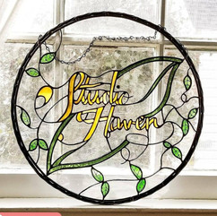 Studio Haven Logo (in Stained Glass)