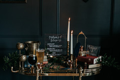 Harry Potter Styled Wedding - Welcome &