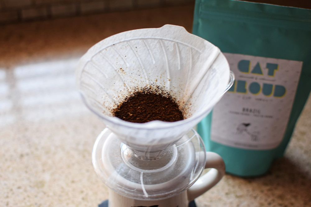 Coffee in a V60