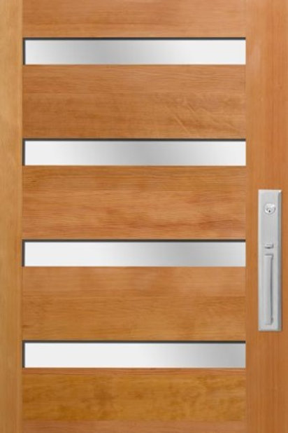 Urban 6 Panel Wood Door