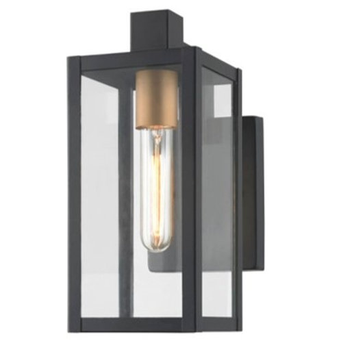 Rhone exterior light in black