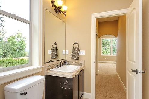 Powder Room Vanity Cabinet