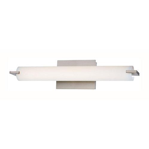 Tube Brushed Nickel LED
