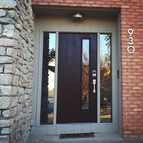 Linea Fiberglass Front Door