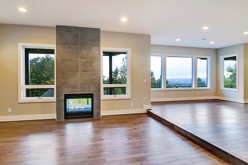 Tile Fireplace Facade-Full Height