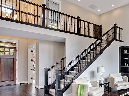 Wrought Iron Stair Banister