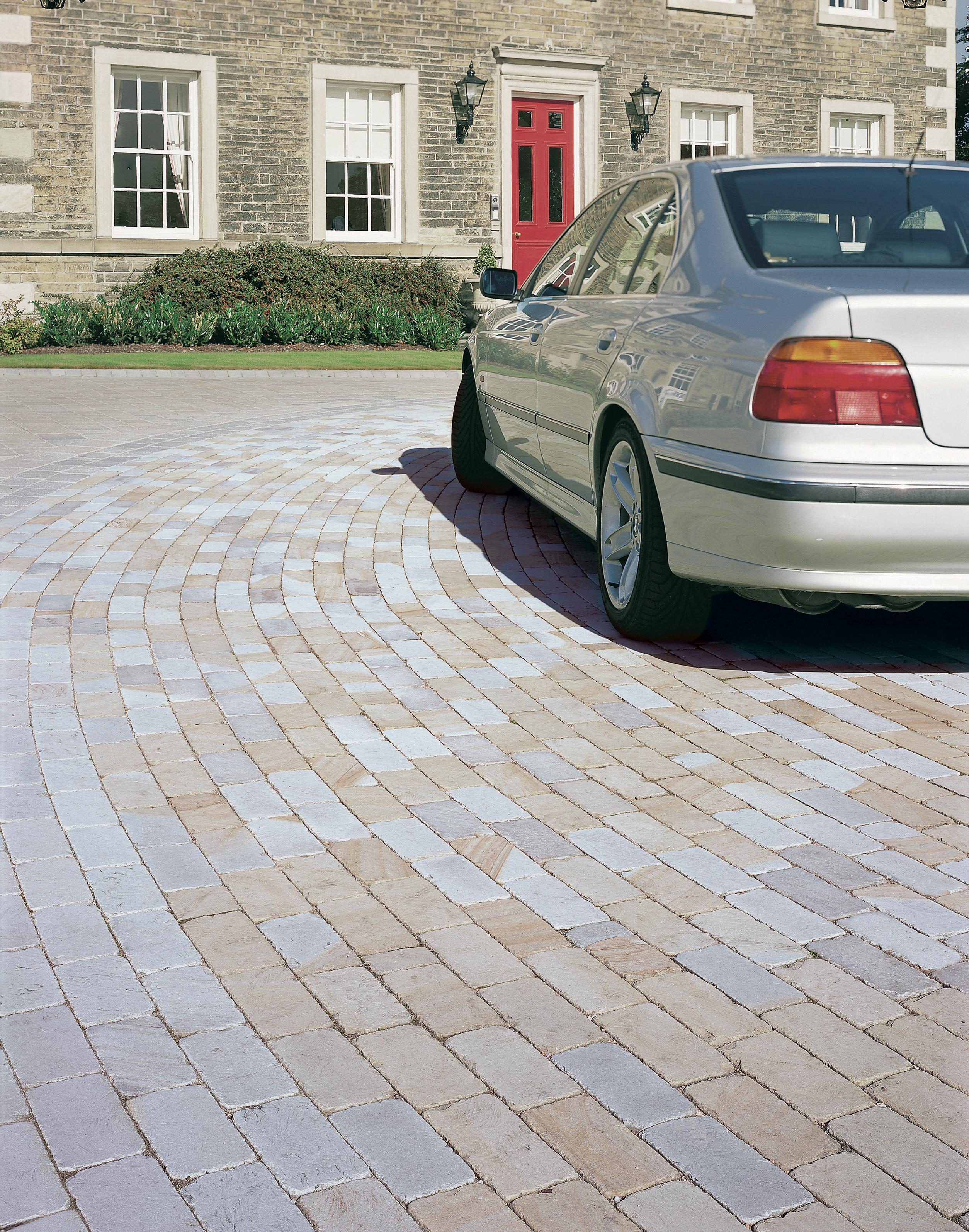 Stone Sett Driveway