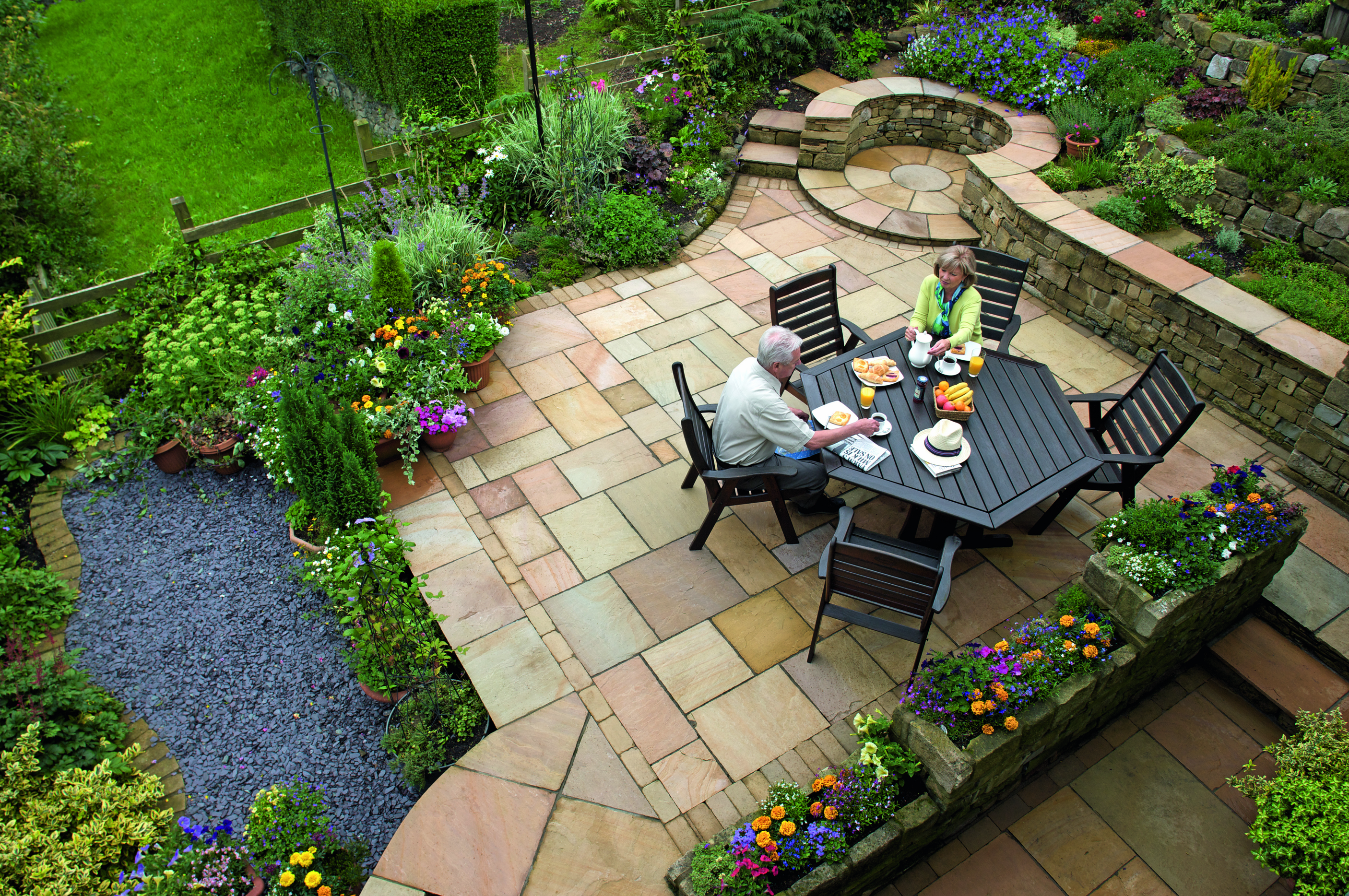 Fairstone Riven Patio