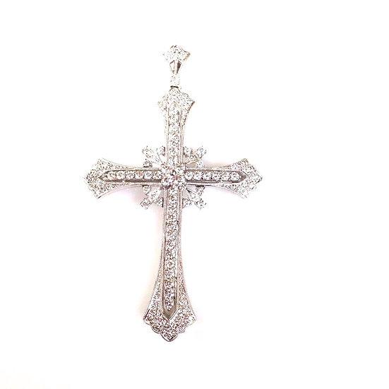 Antique Diamond Cross