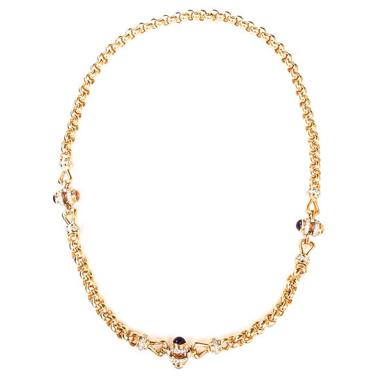 Cabuchon Necklace