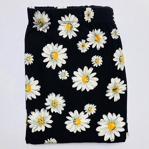 Oh-So-Soft Leggings - Daisies