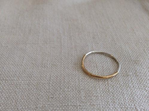 リバーシブルリング(k10、silver)