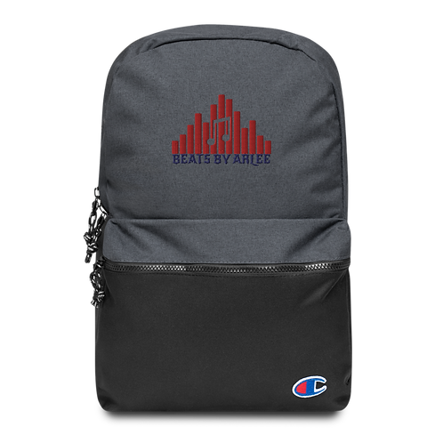 Champion Embroidered BeatsByArlee Branded Backpack