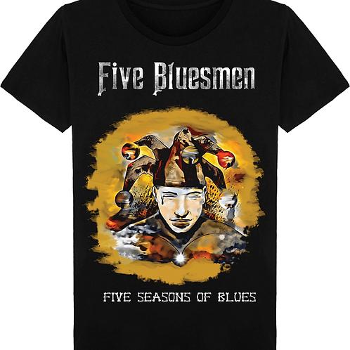 T-shirt homme - Homme fou Five Bluesmen 1