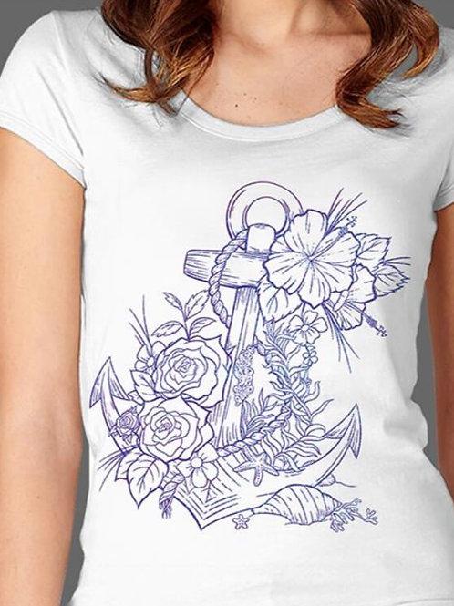 T-shirt Femme Luminol - Ancre 1