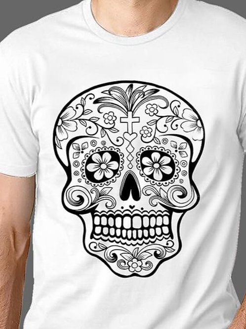 T-shirt Homme Luminol - Tête de mort 1