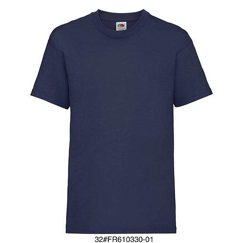 T-shirt enfant - Uni marine