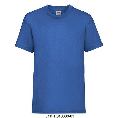 T-shirt enfant - Uni bleu
