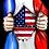 T-shirt Homme Rock - Rammstein America 4