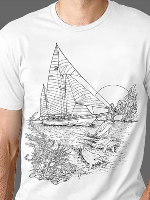 T-shirt Homme Luminol - Volier 1