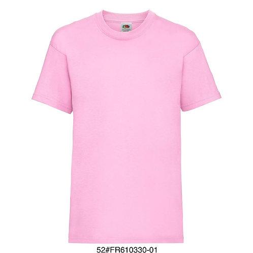 T-shirt enfant - Uni rose