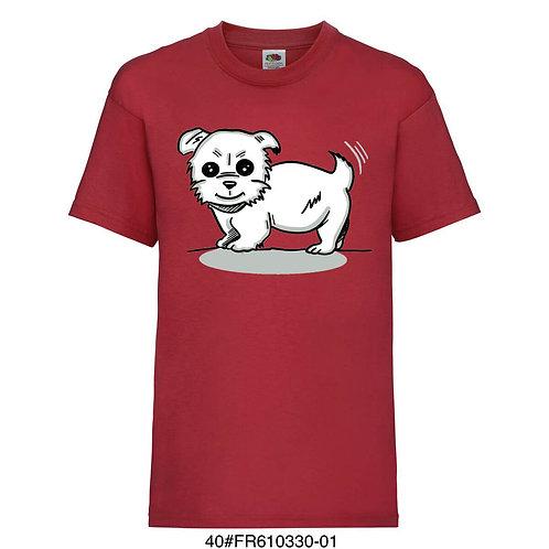 T-shirt enfant - Chiot (plusieurs coloris) -1